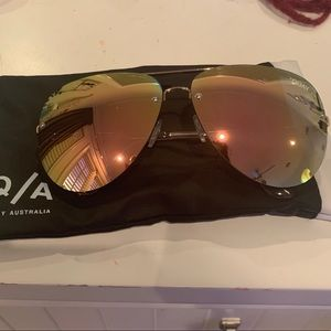 Quay Australia x Amanda steel muse sunglasses